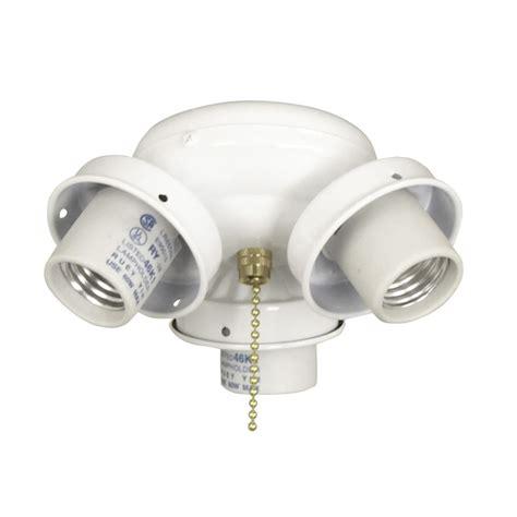 candelabra ceiling fan light kit shop litex 3 light white a 15 candelabra base ceiling fan