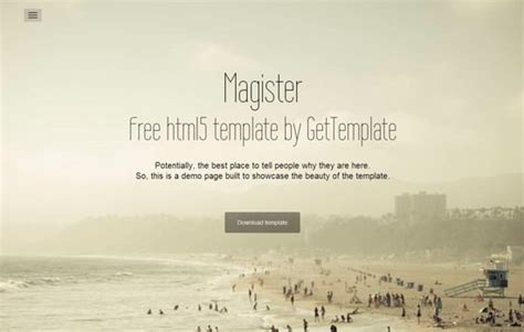 templates bootstrap magister html css psd and more 22 free and fresh design