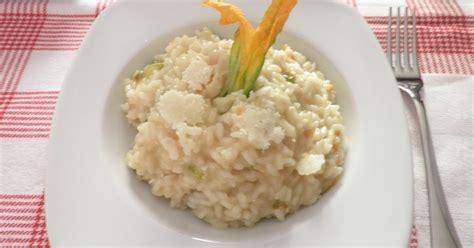 ricetta risotto ai fiori di zucca la cucina di bucci risotto ai fiori di zucca e castelmagno
