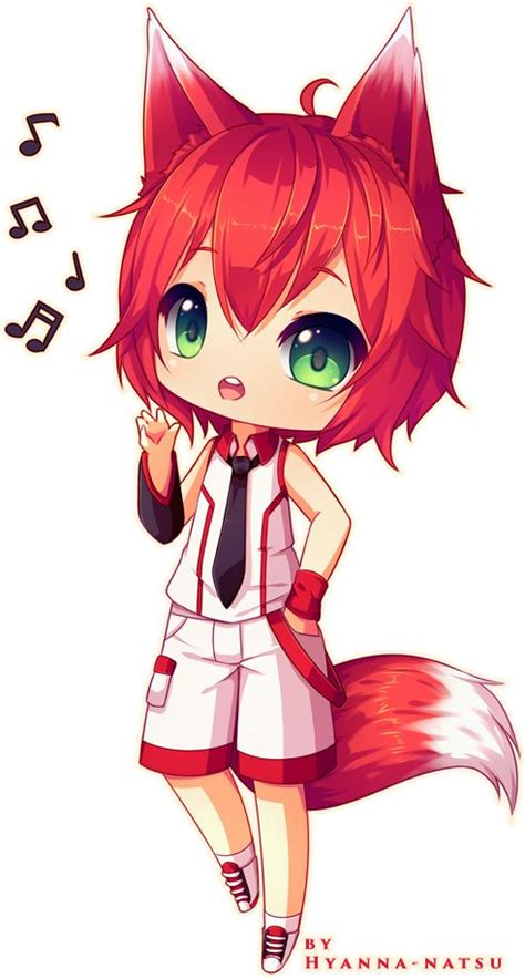 cute anime chibi girl with red hair 17 best images about neko hybrid roleplay on pinterest