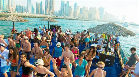 party boat gambler death of a man on jumping overboard at the dubai boat