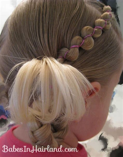 cute hairstyles with rubber bands rubber band wraps flipped braids cute baby hair styles