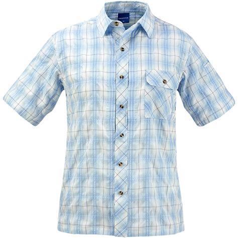 light blue button up shirt propper covert button up short sleeve shirt light blue