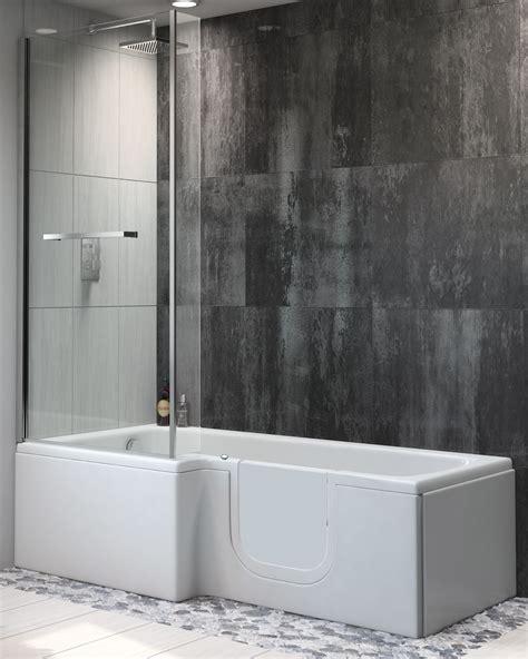 sabre easy access shower bath    practical