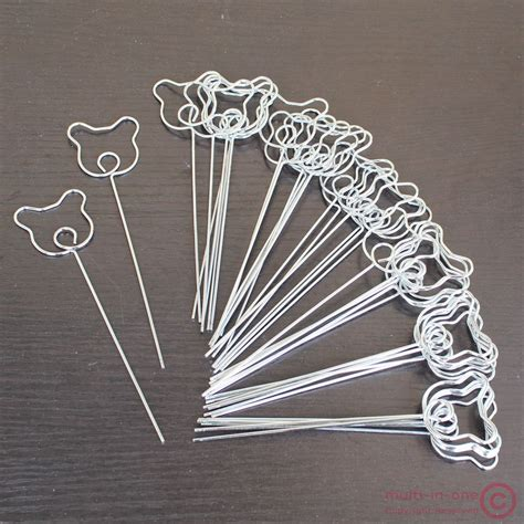 photo clips wire lot 50pcs diy craft bear wire memo card photo clip holders