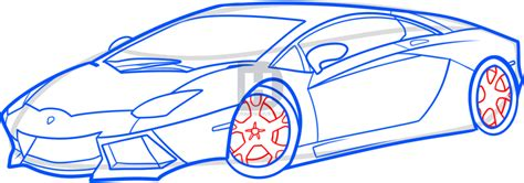 How Do You Draw A Lamborghini How To Draw A Lamborghini Aventador Lamborghini Aventador