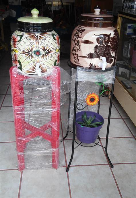 dispensador porta garrafon de ceramica  agua  envio