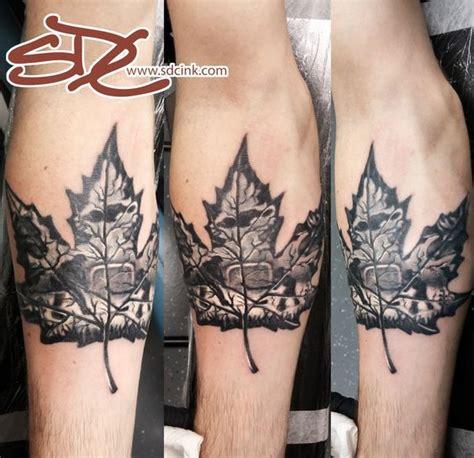 tattoo shops near me louisiana canadian love maple leaf tattoo with hockey and animals