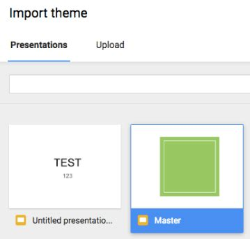 appscare edit the master of an imported theme in google google slides 27 master slides and themes learning g
