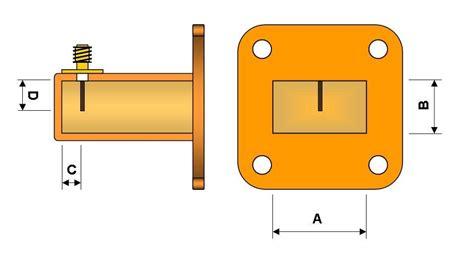 Konektor K 116 Feed Adapter croatia microwave 3cm waveguide to sma transition