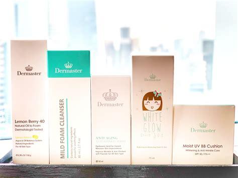 review produk skincare dermaster indonesia running life