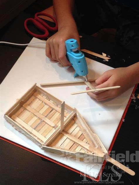 how to make a boat using craft sticks 7 best diy popsicle sticks images on pinterest craft