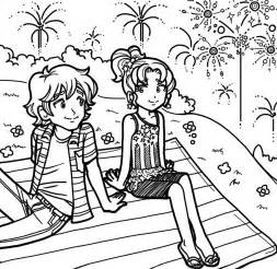 dork diaries coloring pages my 4th of july dork diaries