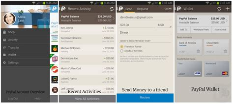 paypal android app manage finances on android using these 6 free apps techacker
