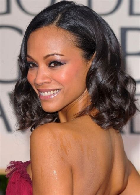 styles with average length weaved hair 35 simple but beautiful weave hairstyles for black women