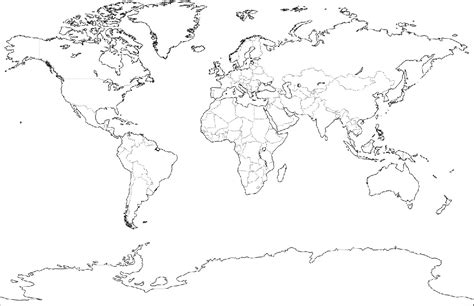 easy printable world map free printable world map coloring pages for kids best