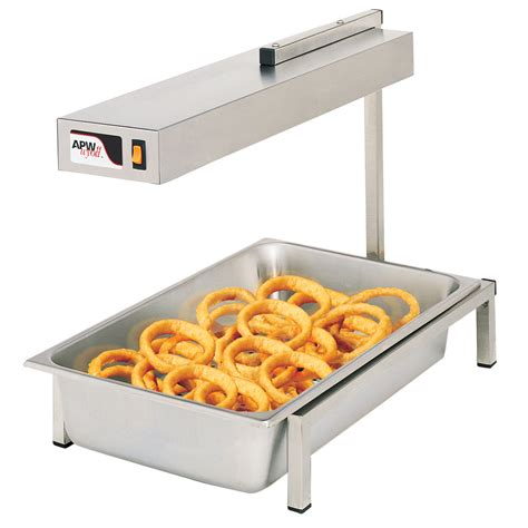 heat l food warmer apw wyott pd 1a portable french fry warmer stainless