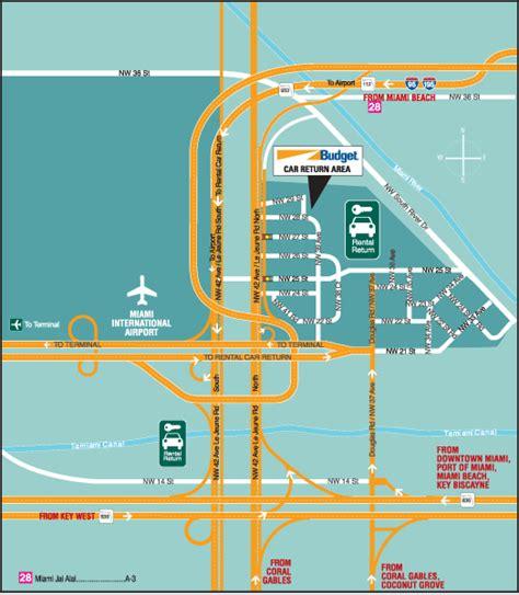 dollar rent  car miami airport location