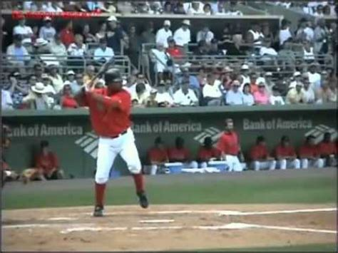 manny ramirez swing manny ramirez swing analysis youtube2