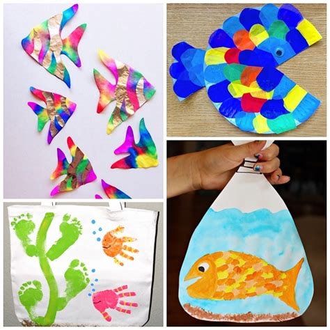 crafts for children creative fish crafts for crafty morning
