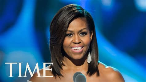 want to see a picture of michelle obama with new haircut michelle obama interviewed at obama foundation summit by