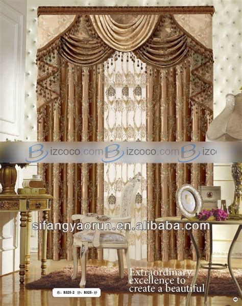elegant living room curtains luxury elegant living room curtain macrame curtains china