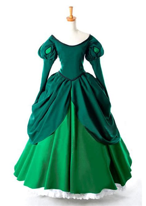 Dress Disney Murmer Dress Princess disney princess ariel wedding dress costume wedding dresses asian
