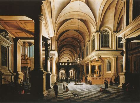 a church interior painting daniel de blieck painting reproduction