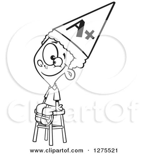 dunce hat template posters prints 25