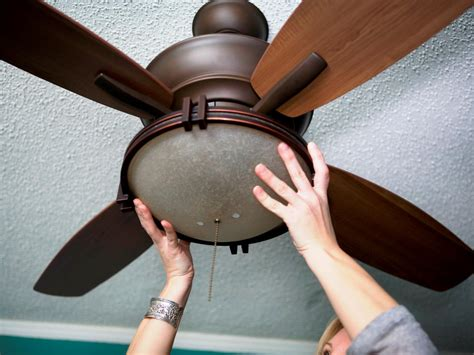 How To Install A Ceiling Fan Light How To Replace A Light Fixture With A Ceiling Fan How Tos Diy