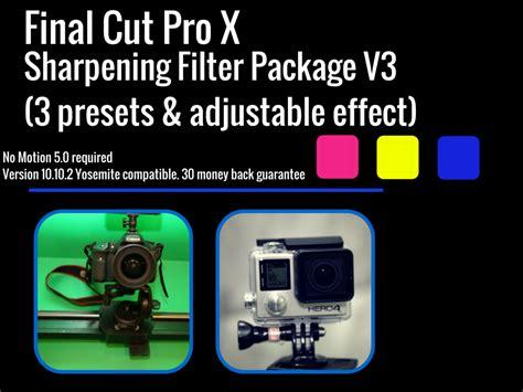 final cut pro unrendered final cut pro x sharpening effect travel videographer