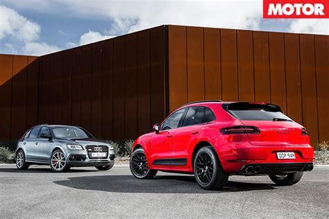 Porsche Macan S Vs Audi Sq5 by Audi Sq5 Plus Vs Porsche Macan Gts