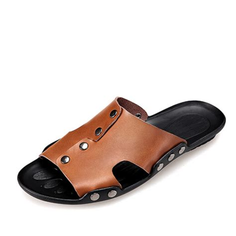 Genuine Leather Platform Sandals by Ce Summer Sandals Flip Flops Genuine Leather Platform