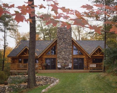 log and stone house plans log home home exteriors i like pinterest log homes logs and stones