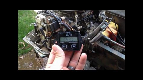 boat engine life hours johnson outboard marine motor tachometer hour meter