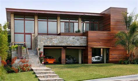 how big is a 3 car garage garages here s a modern three car garage in