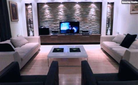 beleuchtung natursteinwand trockenbau ideen wohnzimmer uruenavilladellibro info