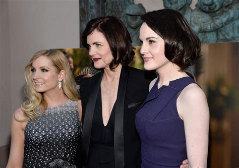 at the an evening with downton abbey event at the television academy michelle dockery photos photos arrivals at the downton