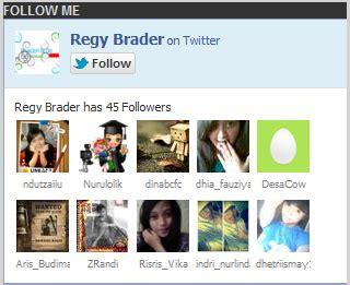 membuat follow twitter di blog cara membuat widget follow me box twitter di blog zipie