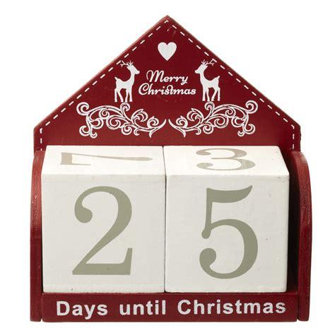 Block Calendar Wooden Advent Calendar At Home