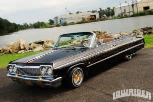 1964 chevrolet impala ss convertible lowrider magazine