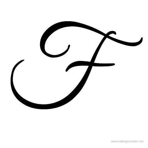 tattoo letter f cursive alphabet gallery free printable alphabets