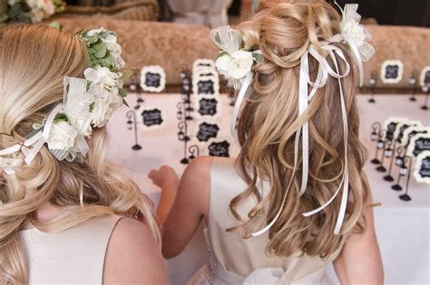 Wedding Hair Flower Ring by Flower Ring Bearers Photos Flower Hairstyle