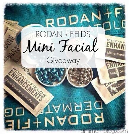 Rodan And Fields Giveaway - rodan fields mini facial giveaway the anti mom blog