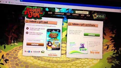Animal Jam Membership Gift Card - animal jam membership gift card codes lamoureph blog