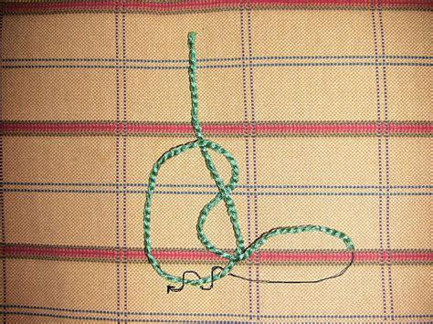 Different Hemp Knots - different macrame knots macrame knots