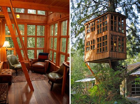 whimsical treehouse point getaway in issaquah wa hiconsumption