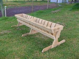 pallets hay feeder ideas pallet ideas recycled