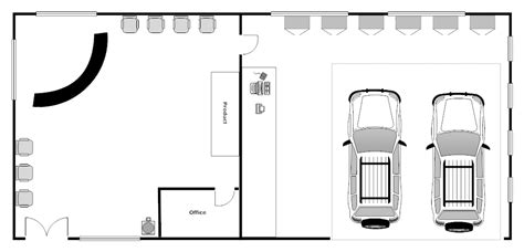 auto shop plans auto repair shop layout
