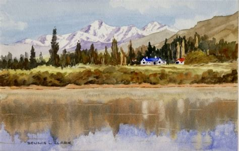 tutorial lake tableau how to paint reflections in water online art lessons